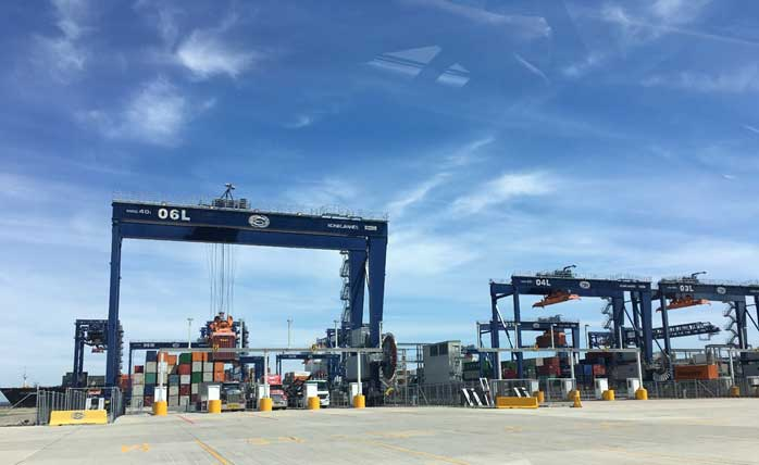 Increased Capacity and Productivity at Port Botany