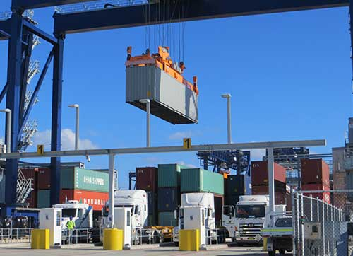 Containerised Cargo
